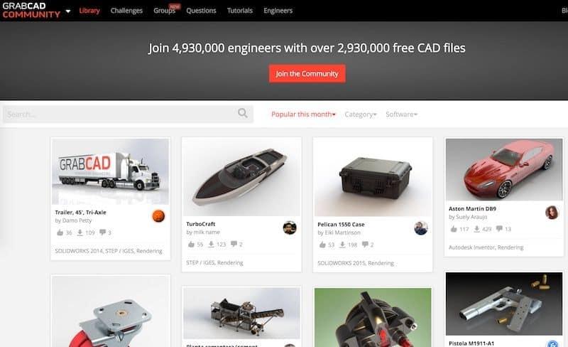 12 Website download mô hình 3D miễn phí tốt nhất hiện nay