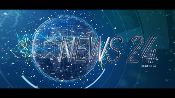 After Effects News là một Project After Effects tuyệt vời