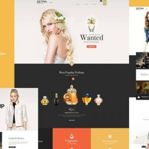 Kho Stock Zetra Ecommerce Psd Template 825x510
