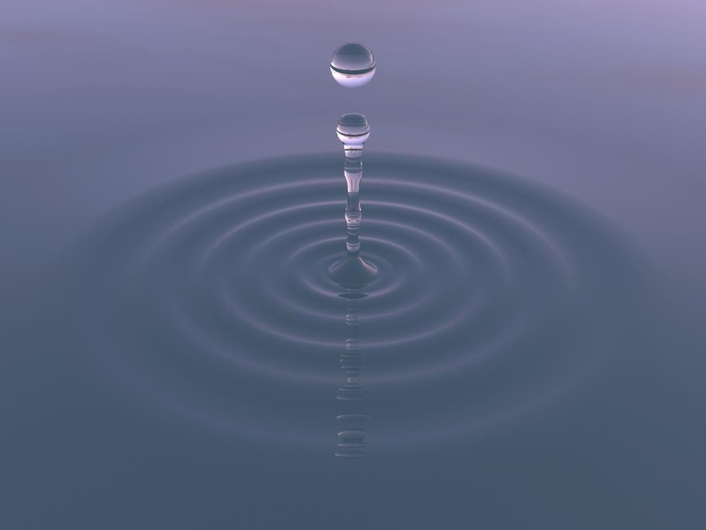 Ảnh Thiền Giọt Nước