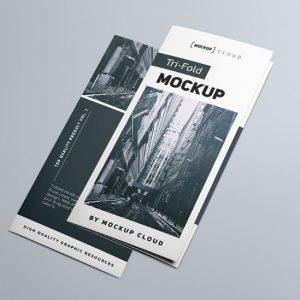 Brochure Gập MockUp