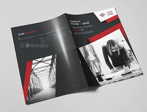 Brochure Template PSD