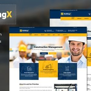 BuildingX - Template Xây Dựng