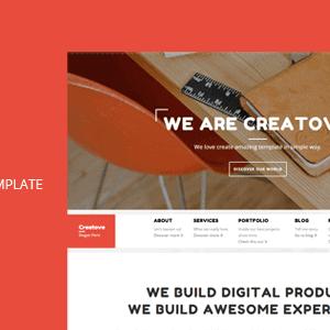Creatova - Agency Template