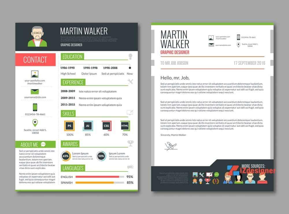 Designer làm CV và những điều cần chú ý