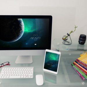 Desktop Device Mockup