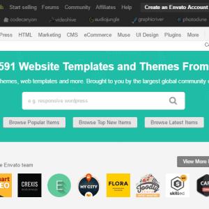 Dịch vụ mua bán Theme WordPress tại Themeforest giá rẻ
