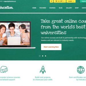 Education Training HTML Theme