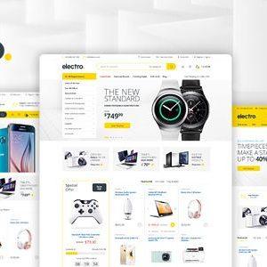 Electronics eCommerce HTML