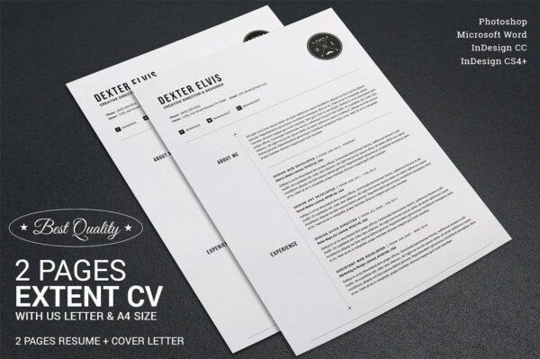 Extent Resume CV