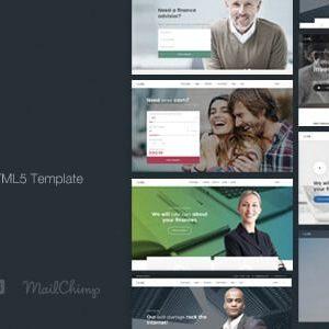 Finance HTML5 Template