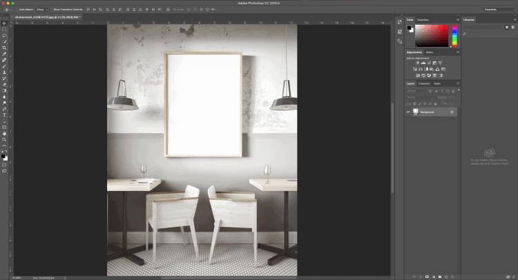 Hướng dẫn thiết kế Mockup bằng Photoshop