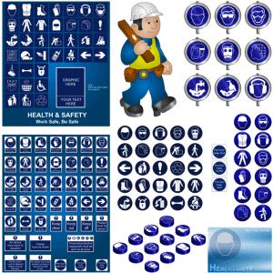 Icons Vector bảo hộ lao động