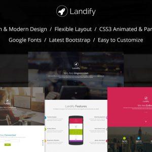 Landify Landing Page