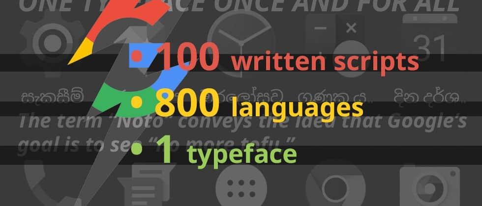 Noto Font - Bộ Font chữ miễn phí tuyệt đẹp của Google