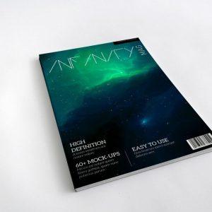 PSD Bìa tạp chí Mockup