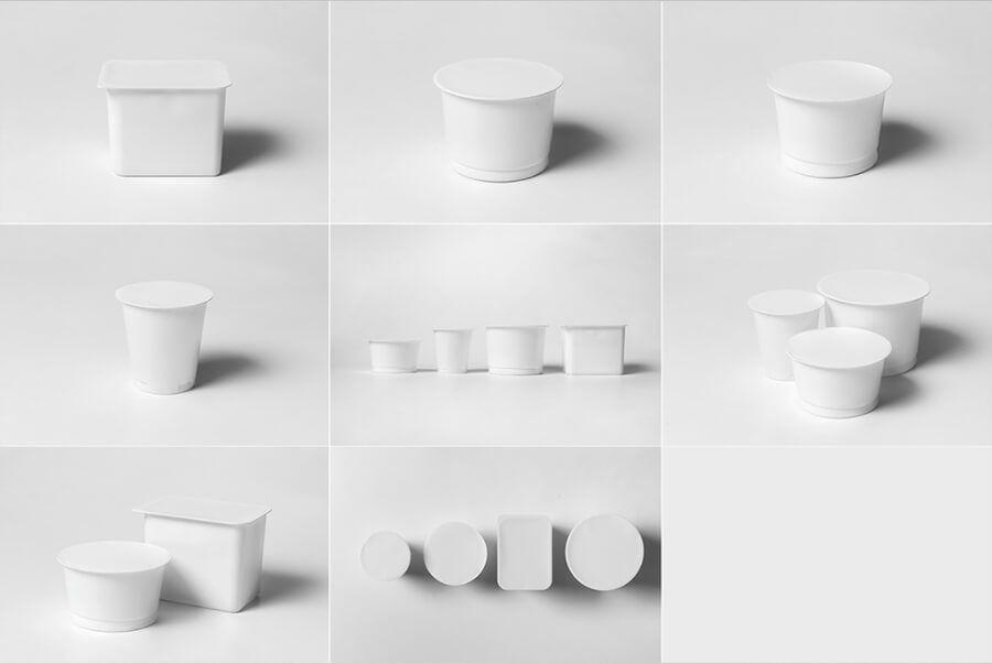 PSD Mockup cốc nhựa 3