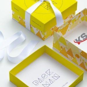 PSD Mockup hộp quà