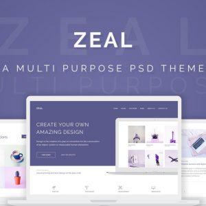 PSD Zeal Creative Multi #1