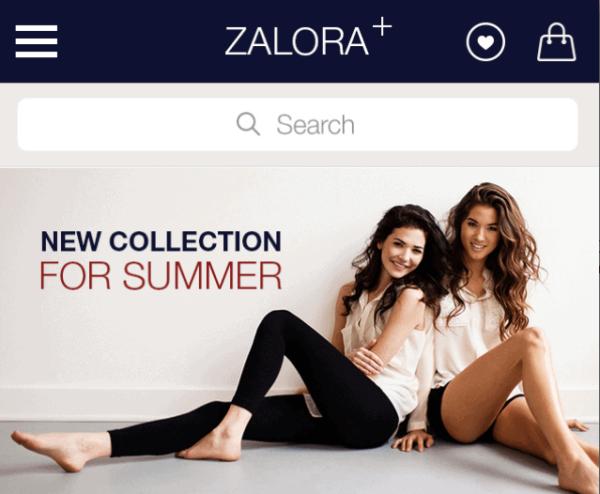 Shopping UI For E-Commerce