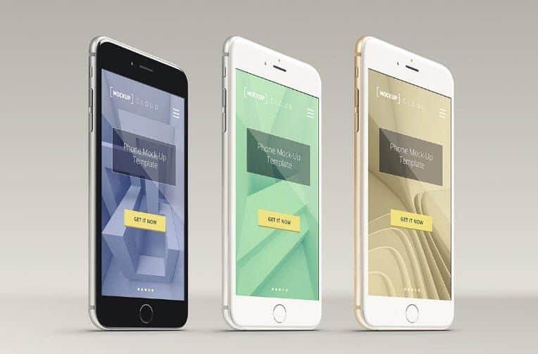 Smartphone Mockup PSD