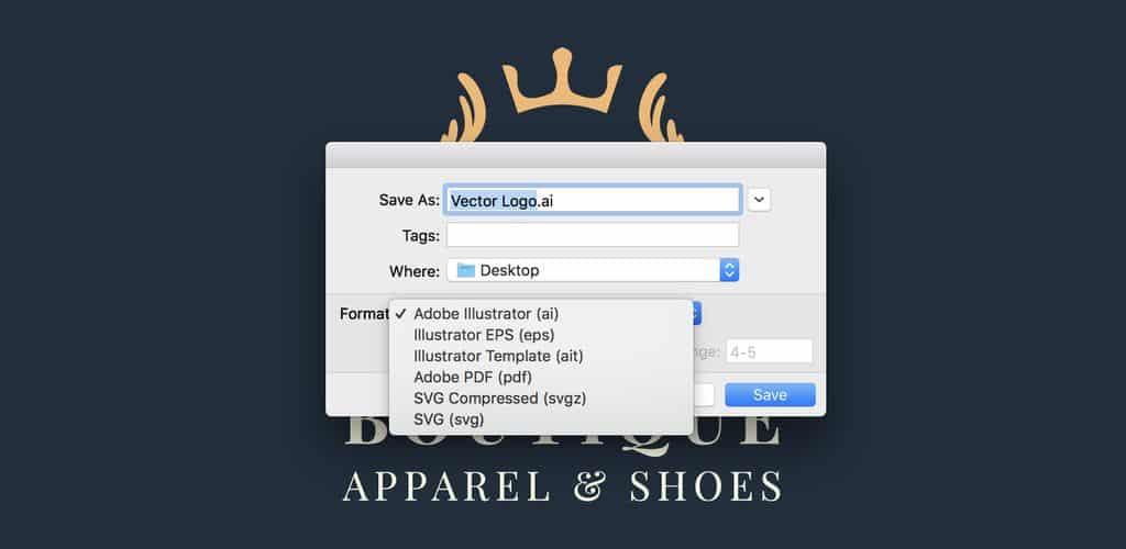 Sử dụng Vector thiết kế Logo là lựa chọn tuyệt vời