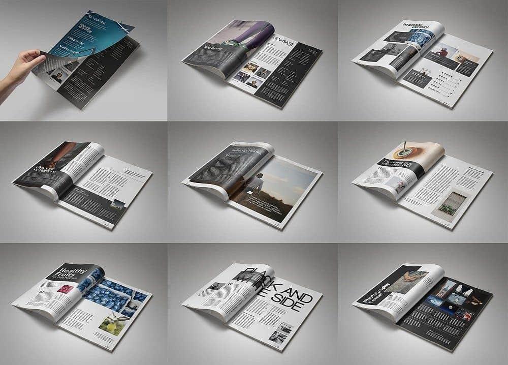 Template Bìa Sách, Tạp Chí