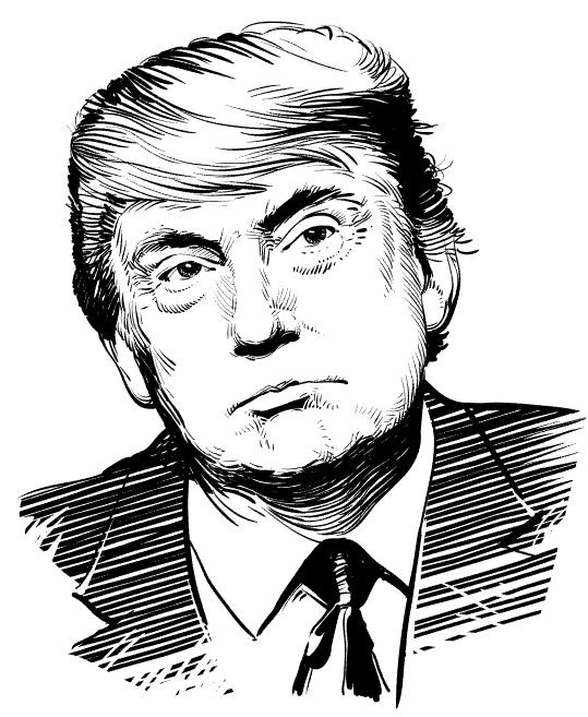 Vector Donald Trump