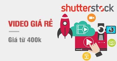 Mua Video Shutterstock Giá Rẻ