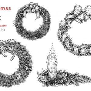 Vòng Hoa Giáng Sinh