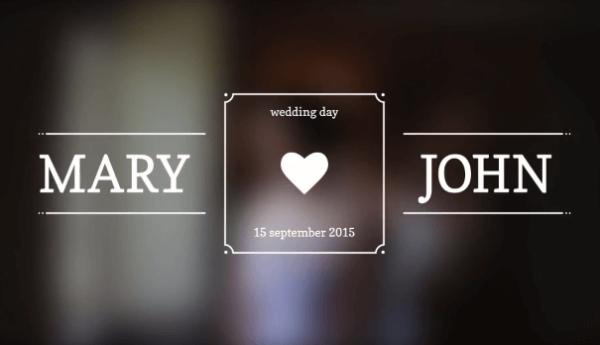 Wedding Titles - KS46