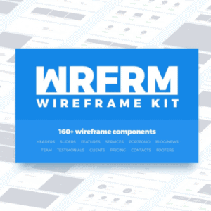 Wireframe Kit Photoshop