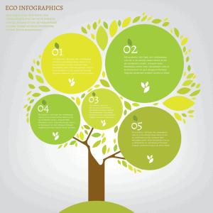 Infographics Sinh Hoc Dep Voi La Va Cay