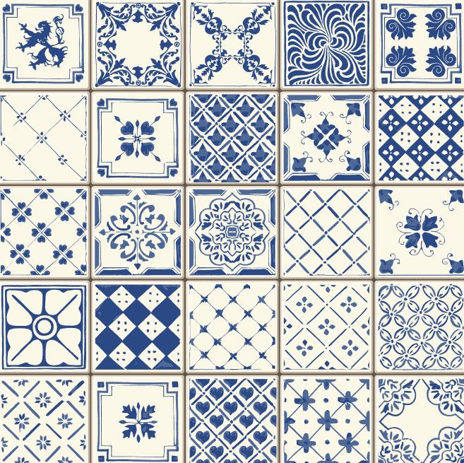 Pattern Hoa Van Lien Mach Gach San