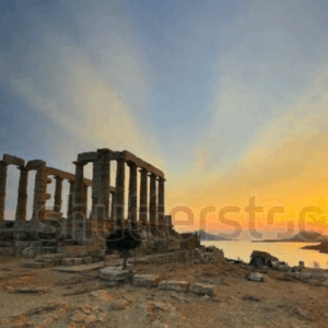 Hoang Hon O Cape Sounion Time Lapse Hy Lap
