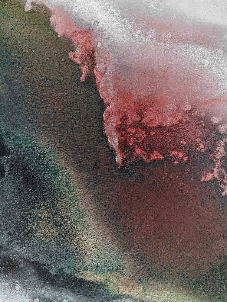 Những ruộng muối nhiều màu Tại Australia