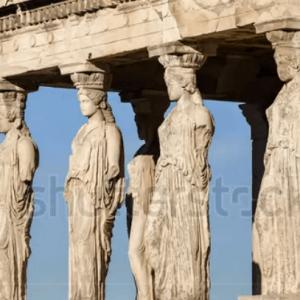 Thanh Pho Caryatides Athens Hy Lap