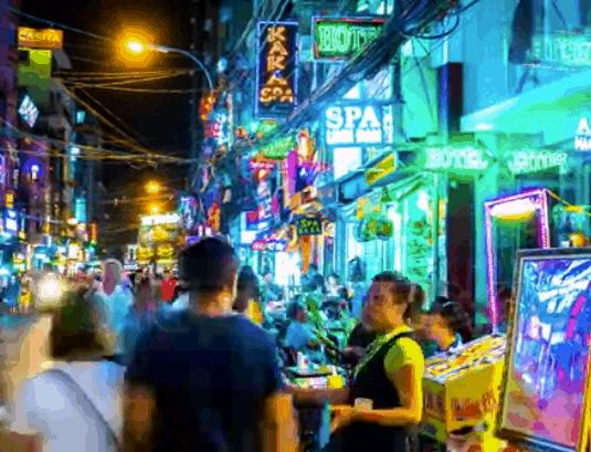 Thanh Pho Sai Gon Ve Dem