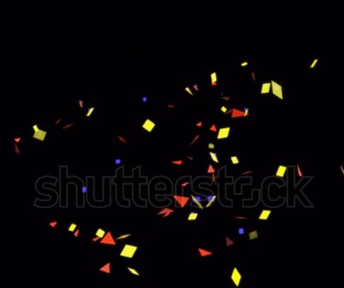 Video 4K tung pháo giấy tuyệt đẹp