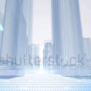 Video Full HD mô hình di chuyển giữa thành phố