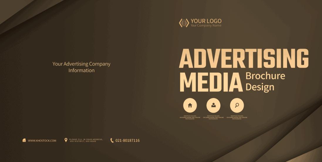 Brochure truyền thông quảng cáo cho công ty