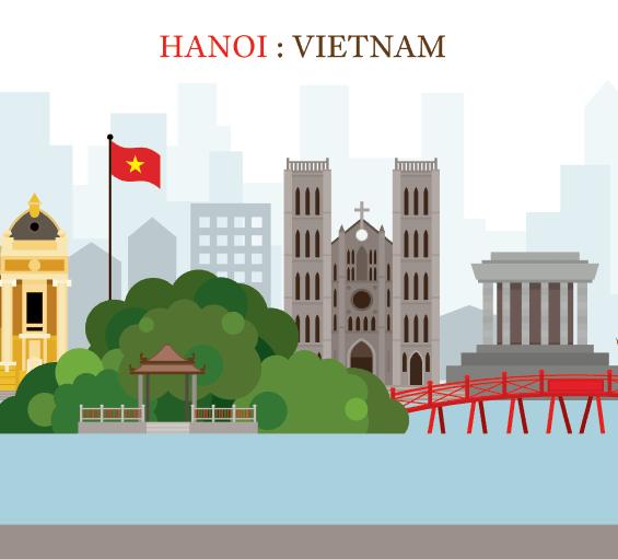 Vector Hà Nội - Việt Nam