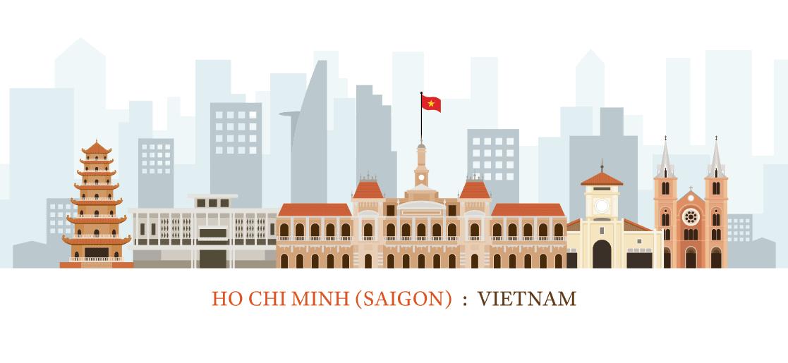 Vector Hồ Chí Minh - Việt Nam