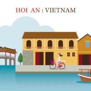 Vector Hội An - Việt Nam