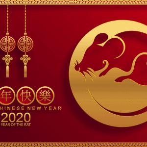 Vector 2020 năm Canh Tý