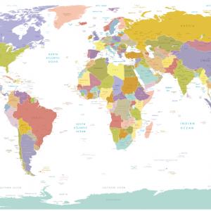 Vector bản đồ thế giới