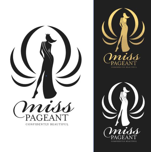5 Logo Miss pageant vector tuyệt đẹp