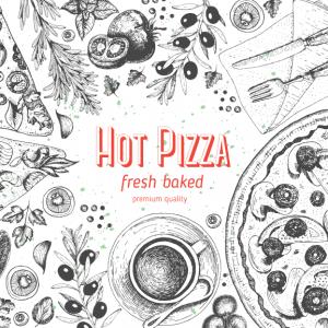 5 vector pizza tuyệt đẹp