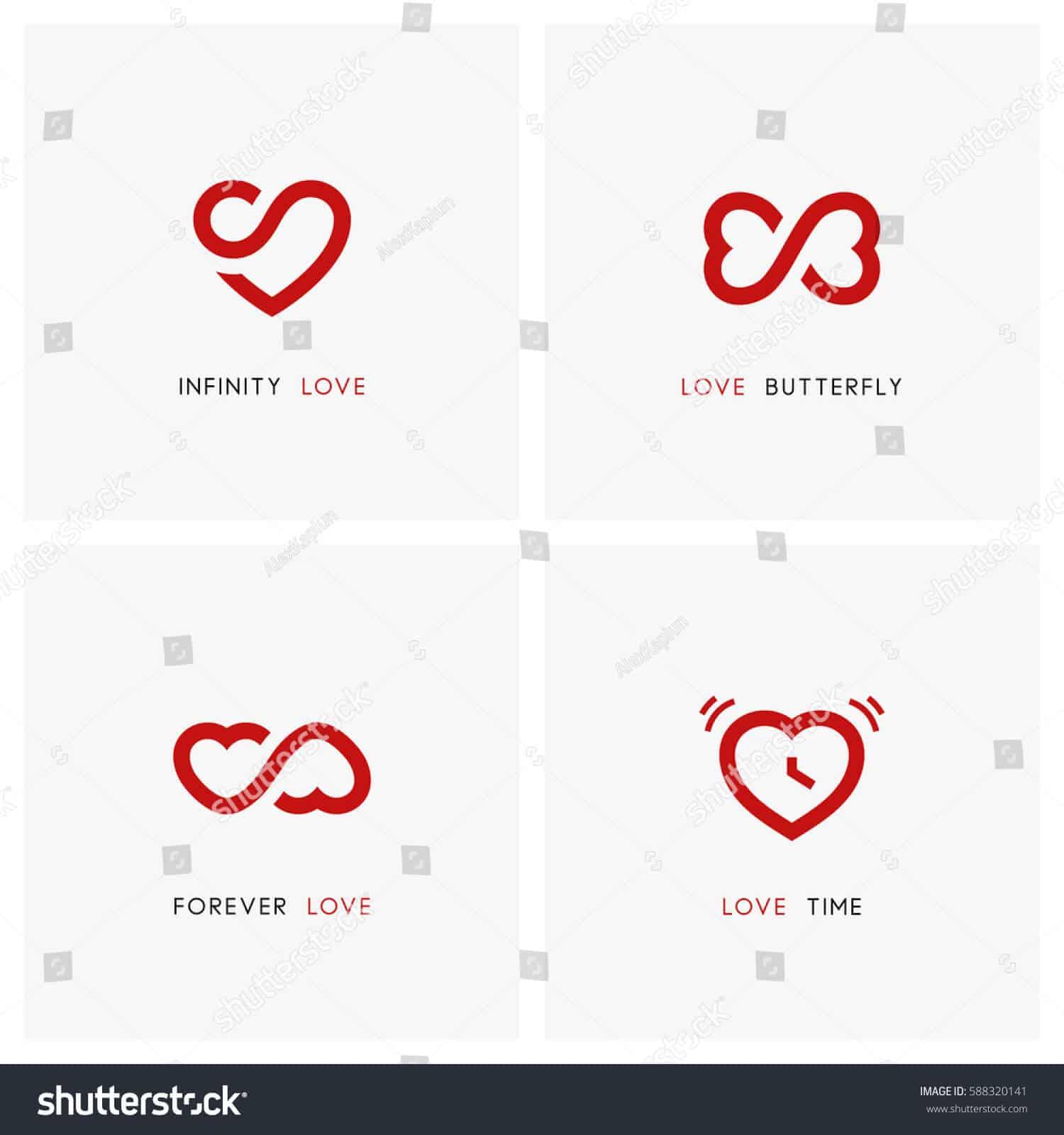 1 triệu 600 ngàn vector biểu tượng tình yêu tuyệt đẹp trên Shutterstock