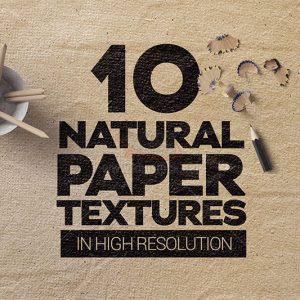 10 Textures giấy tự nhiên - KS564